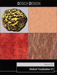 DOSCH DESIGN Textures Medical Visualization V3