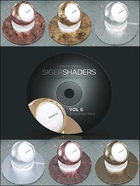 SIGERSHADERS Vol 6 for Mental Ray
