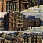 New York Old Buildings Pack