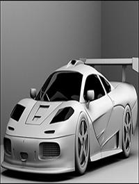 McLaren F1 GTR Model
