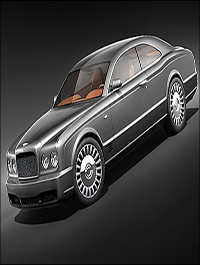 Turbosquid Bentley Brooklands