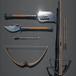 Unreal Engine 4 Marketplace Medieval Weapons Pack 3