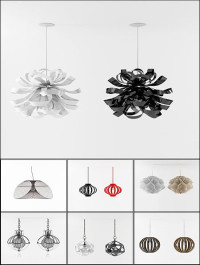 3D Models Chandelier Collection