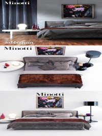 Model Minotti SpencerBed set