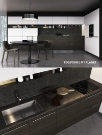 Kitchen Poliform My Planet Handle