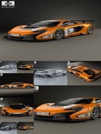 Hum3D McLaren 650S GT3 2015 3D model