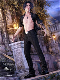 Attitude Outfit for Genesis 3 Male(s)