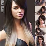 Emilia Hair and OOT Hairblending 2.0 for Genesis 3 Female(s)