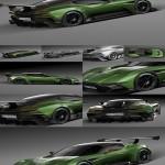 3d Model Aston Martin Vulcan 2016