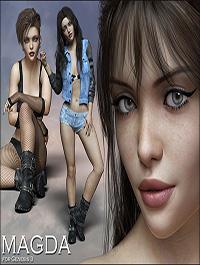 Magda for Genesis 3 by Rhiannon