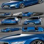 3d Model Audi RS7 Sportback performance 2016