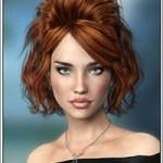 Josina Hair for Genesis 3 Female(s)