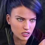 Z Fighter – Morph Dial & One-Click Expressions for Genesis 3 Female