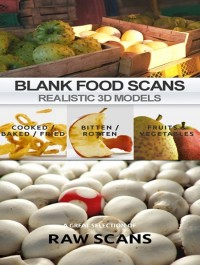 Blanc Realistic Scanned Food 3D Models