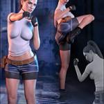 Z Kickboxing – Poses for the Genesis 3 Female(s)