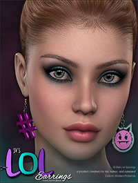 SV's LOL Earrings by Sveva