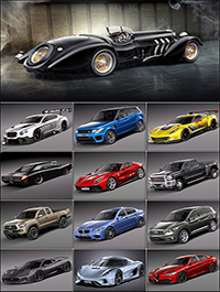 Collection of Nice Car Models V