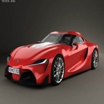 Humster3D Toyota FT-1 2014 3D Model
