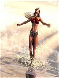 SY Splashing Water Iray by SickleYield