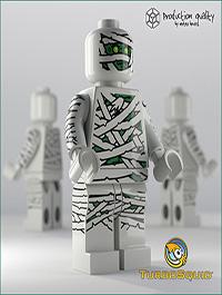 Lego Mummy Figure