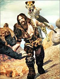 Barbaric HD Bundle for Genesis 3 Male