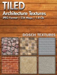 Dosch Design Tiled Architecture Textures