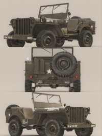 US Army Willys Jeep B