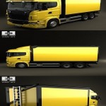 Humster3D Scania R 730 Box Truck 2010 3D