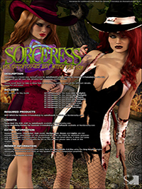 Sorceress for HOT Witch by ShanasSoulmate