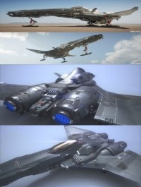 The Starfighter 3D Game Asset