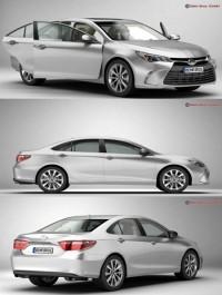 Toyota Camry 2015 3D Model