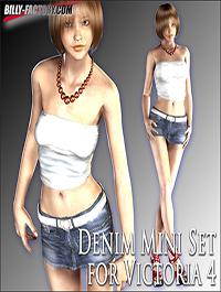 V4 Denim Mini Set by billy-t