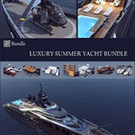 Luxury Summer Yacht Bundle