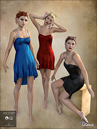 Romantique Poses, Expressions & Backgrounds for Genesis 3 Female(s)