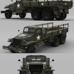 US Army Truck GMC CCKW LWB 353 – D