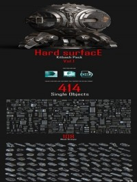 Hard Surface Kitbash Pack 01