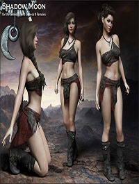 Shadow Moon for the G3 and G8 Females by RPublishing