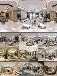 360° INTERIOR DESIGNS 2017 LIVING & DINING, KITCHEN ROOM NEOCLASSIC STYLES COLLECTION 1