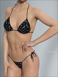 Hongyu's Bikini for Genesis 8 Female(s)
