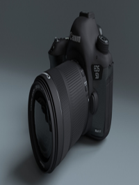 Canon EOS 5D Mark III 3d Model