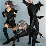 Epic Heroine Poses for Genesis 3 Female(s)