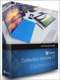 CGAXIS MODELS VOLUME 77 ELECTRONICS VI ( C4D, C4D Vray )