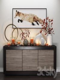 Crate & Barrel | Fox & Candles