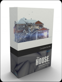 The House FX - Destruction Training with Thinking Particles in 3ds Max