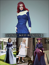 Iconic MFD Bundle 1 for Genesis 8 Female(s)