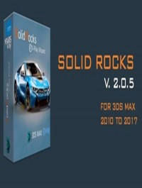 SolidRocks 2.0.5 for 3ds Max 2010 - 2017