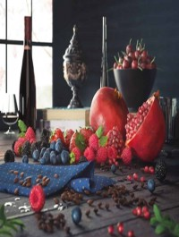 3D Models Berries Pomegranate CGI