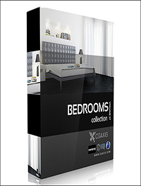 CGAxis Models Volume 27 Bedrooms