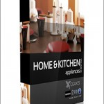 CGAxis Models Volume 20 Home & Kitchen Appliances