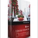 CGAxis Models Volume 39 3D Christmas